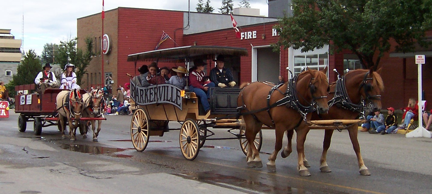 Carriage in the Parade